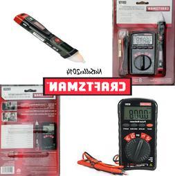 CRAFTSMAN 10 Function Auto-Ranging Multimeter/NCV Tester 34-