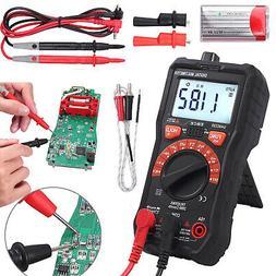 2000 Digital LCD Capacitance Multimeter Auto Range NCV hFE A