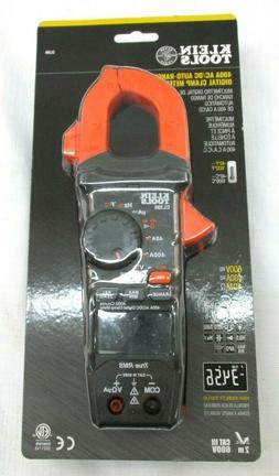 Klein Tools 400A AC/DC Auto-Ranging Digital Clamp Meter CL39