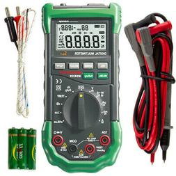 5-in-1 Digital Multimeter with Lux, Humidity, Sound level, a