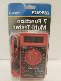7 FUNCTION DIGITAL MULTIMETER Voltmeter Voltage Tester Auto