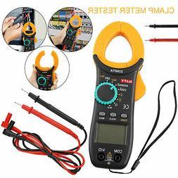 Digital Clamp Meter Tester AC / DC Volt Amp Multimeter Auto