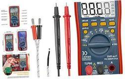 Digital Multimeter, TRMS 4000 Counts Volt Meter ; Meas