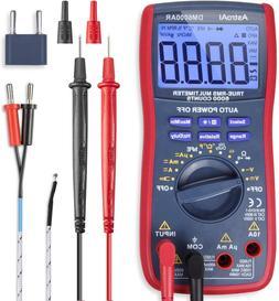 Astroai Digital Multimeter, Trms 6000 Counts Volt Meter Manu