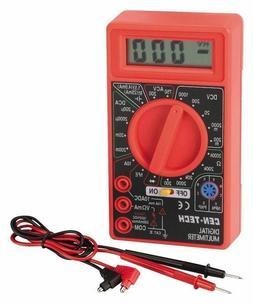 CEN TECH 7 Function Digital LCD AC/DC Multimeter Home Auto B