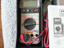 Chaftsman Professinal Pc interface auto ranging multimete 82