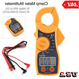 Digital Clamp Meter Multimeter AC DC Voltmeter Auto Range Vo