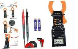 Digital Clamp Meter, 2000 Counts Auto-Ranging Multimeters, A