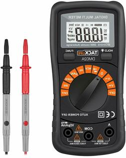 Digital Multimeter Auto-ranging with NVC, Test Amp Voltage O