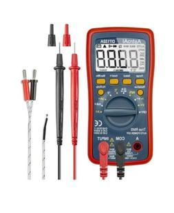 Digital Multimeter, TRMS 4000 Counts Volt Meter Manual and A