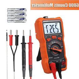 Digital Multimeter True RMS AC/DC Voltage Current NCV Tester