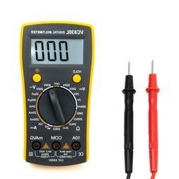 Digital Multimeter Volt Meter Measures Voltage Tester Curren