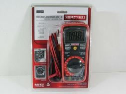 Craftsman Digital Multimeter w Auto Ranging, Temperature, AC