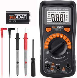 Tacklife Dm02A Advanced Digital Multimeter, Auto-Ranging Ele