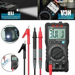 9999 Counts Digital Multimeter TRMS DC AC Test Meter Auto Ra