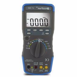HoldPeak HP-760D Digital Multimeter True RMS Auto Ranging Vo