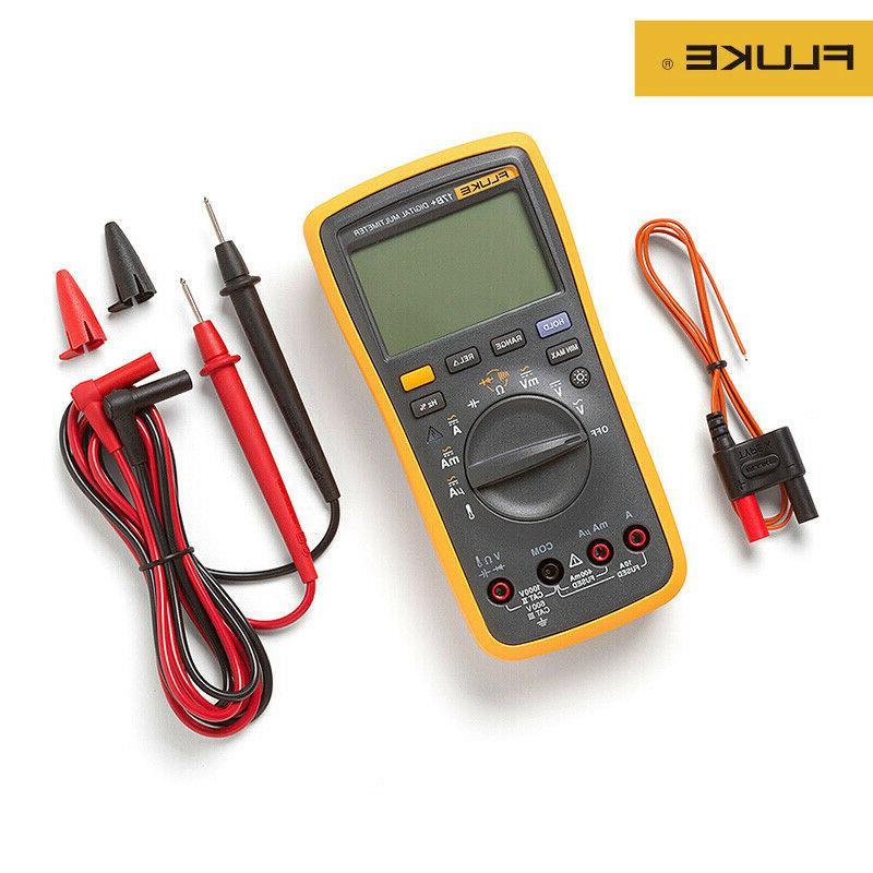 Fluke 17B+ Auto Range Digital Probe Multimeter Meter Tempera
