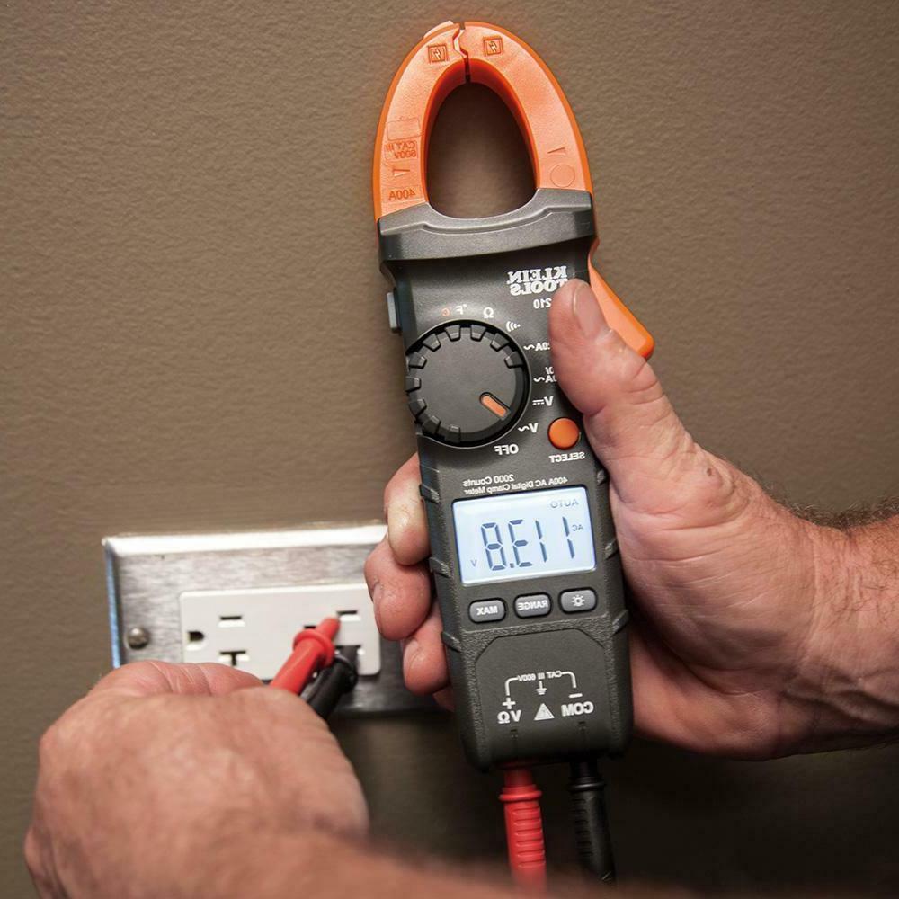 400 Amp AC Digital Temperature Electric Tester