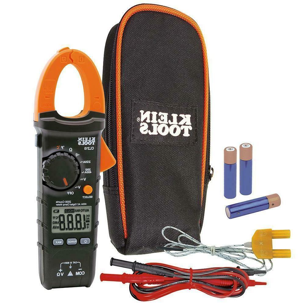 400 Digital Clamp Temperature Tester