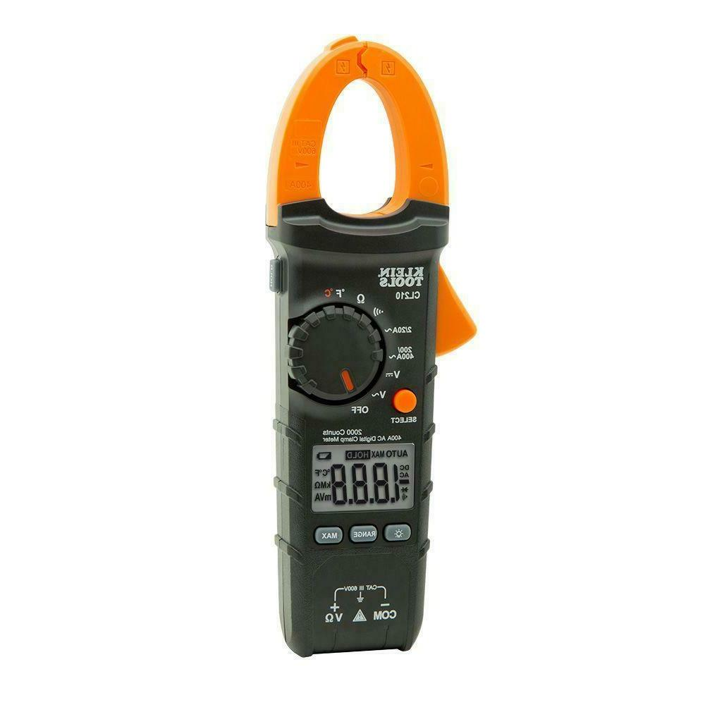 400 Amp Digital Clamp with Temperature Electric Tester NEW