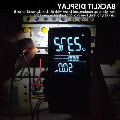 AC/DC Multimeter Auto Measuring Volt