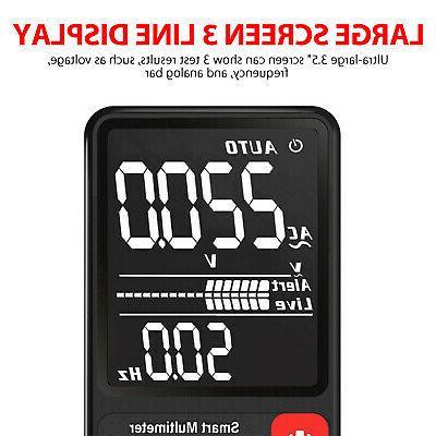 AC/DC LCD Multimeter True Auto Measuring Volt