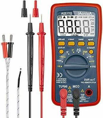 AstroAI Digital Multimeter, TRMS 4000 Counts Volt Meter (Man