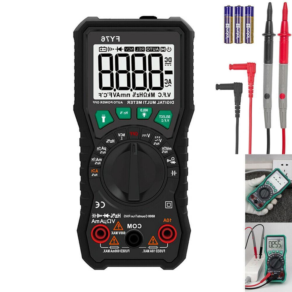 auto range digital multimeter ac dc voltmeter