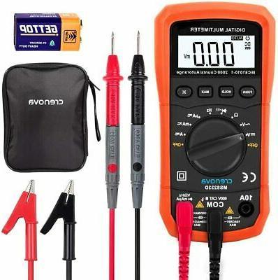 Crenova MS8233D Auto-Ranging Digital Multimeter Battery Oper