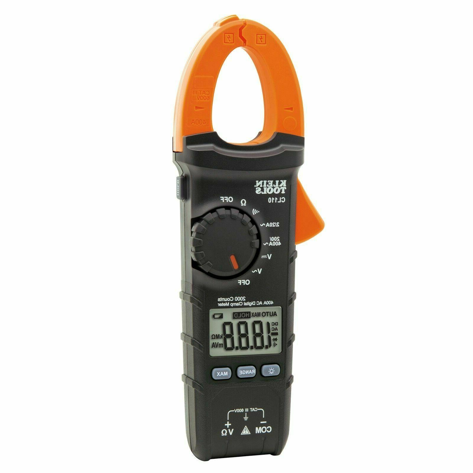cl110 digital clamp meter ac auto ranging
