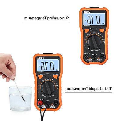 Digital DC Voltmeter Ammeter Volt