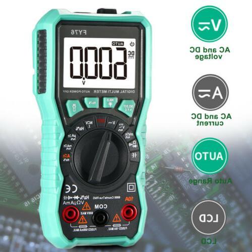 Digital Auto AC Voltmeter Ohmmeter