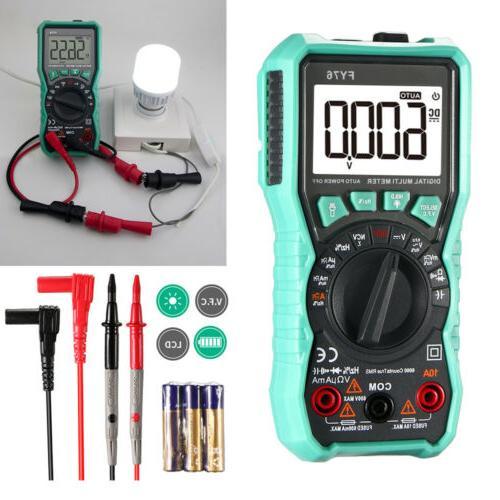 Digital Multimeter Auto AC DC Voltmeter Ohmmeter Volt