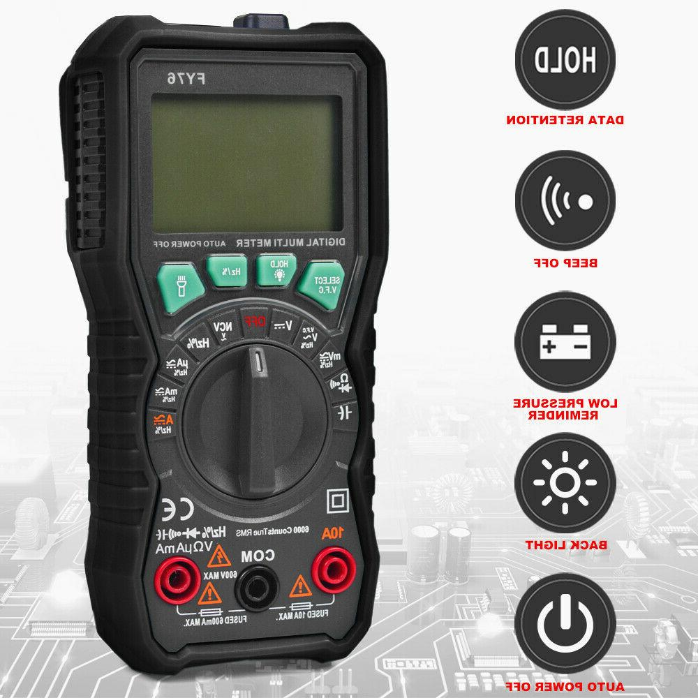 digital multimeter auto range ac dc voltmeter