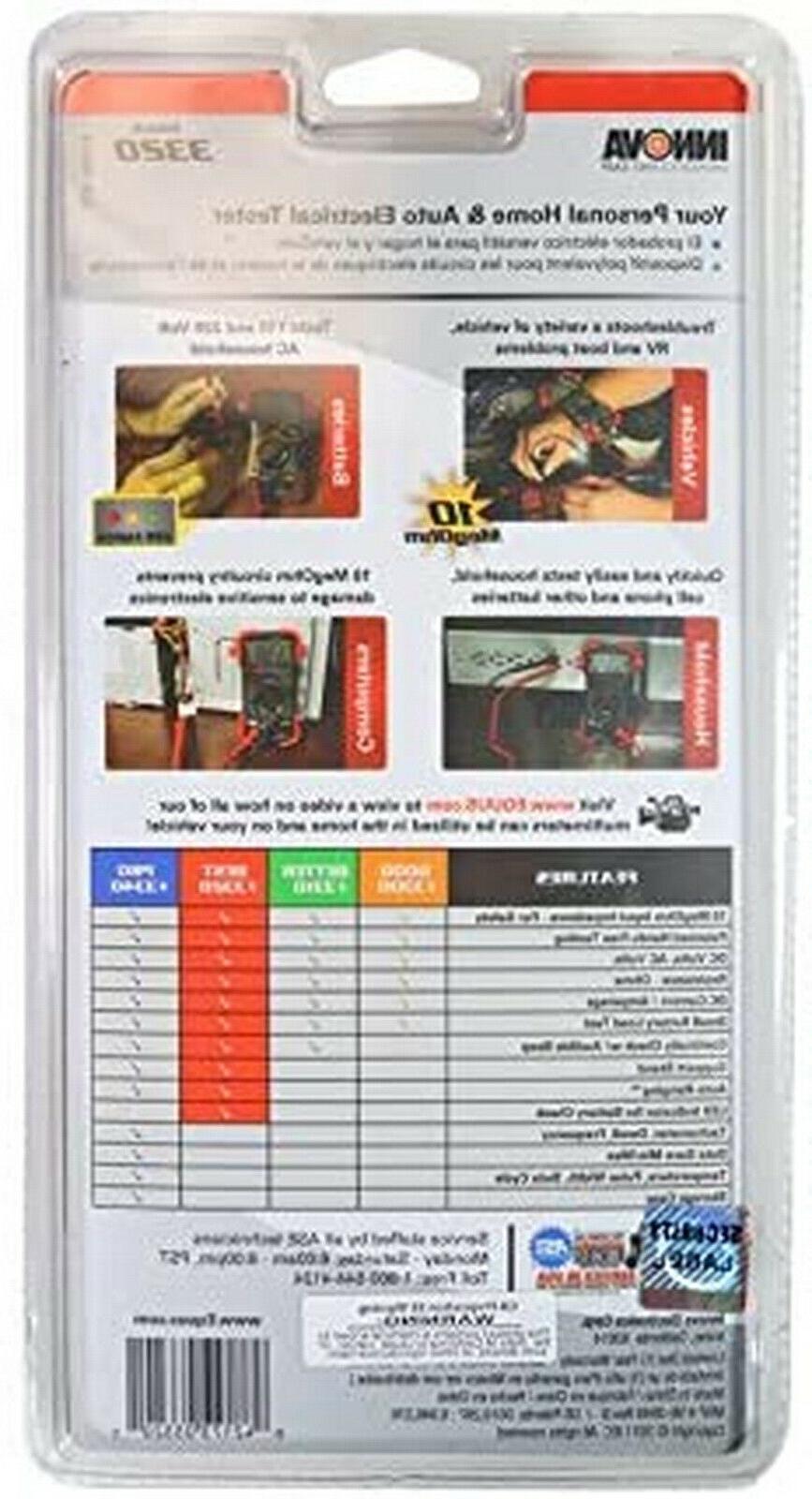 Digital Range Voltmeter Tester Automotive Capacitance Meter Amp