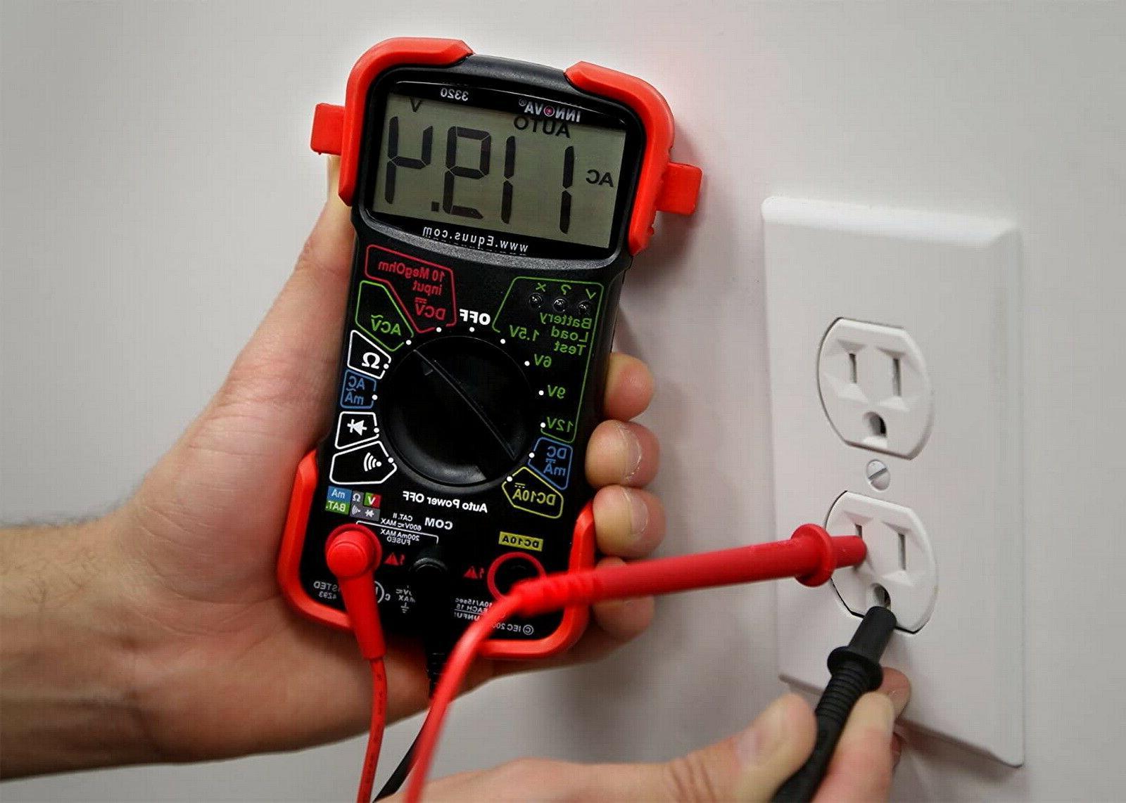 Digital Auto Range Voltmeter Tester Capacitance Meter
