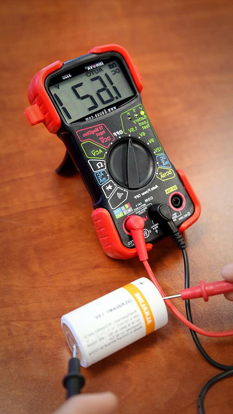 Digital Multimeter Auto Voltmeter Automotive Meter Amp