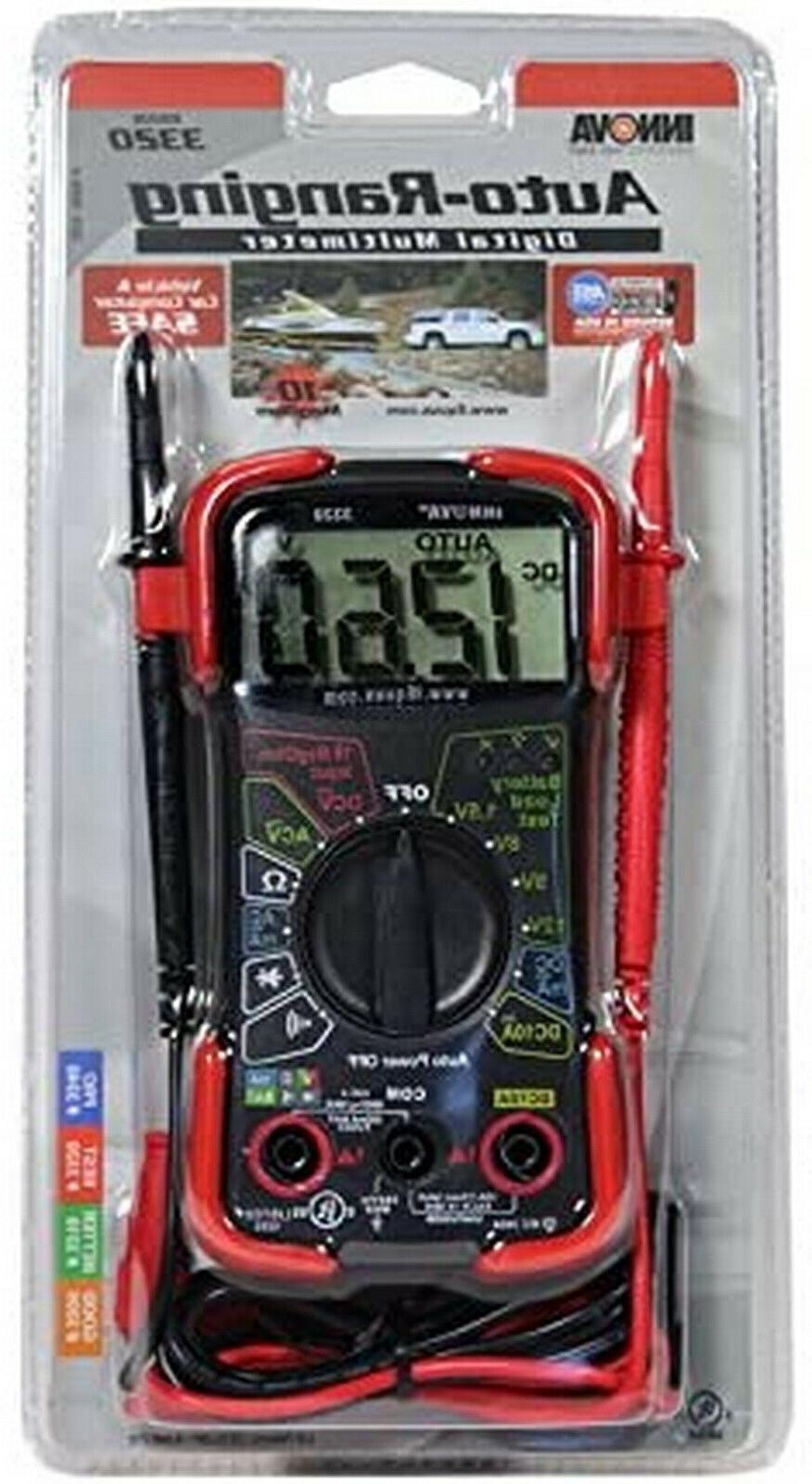 Digital Voltmeter Automotive Meter