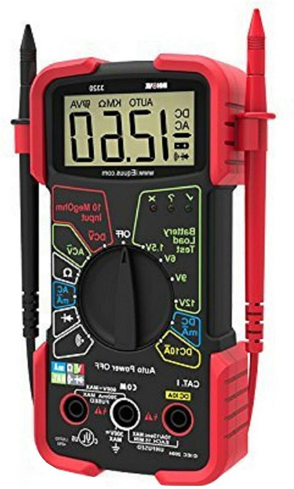 digital multimeter auto range voltmeter tester automotive