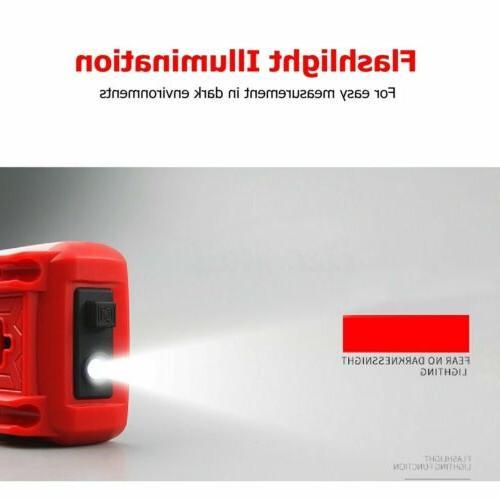 Digital Meter Ohm Voltmeter Range Volt Tester