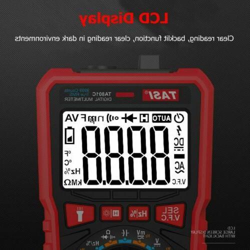 Digital Meter Amp Ohm Voltmeter Volt Tester AC