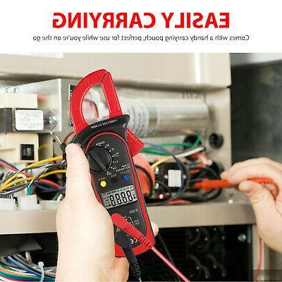 Digital DC Clamp Meter Auto Range LCD