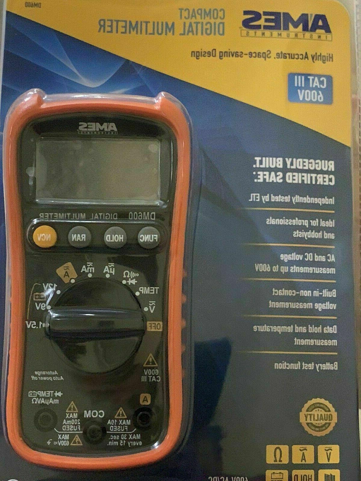 AMES DM600 Multimeter 3 600V NEW