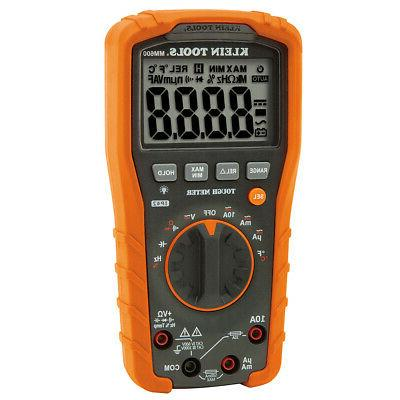 klein mm600 digital multimeter auto ranging 1000v