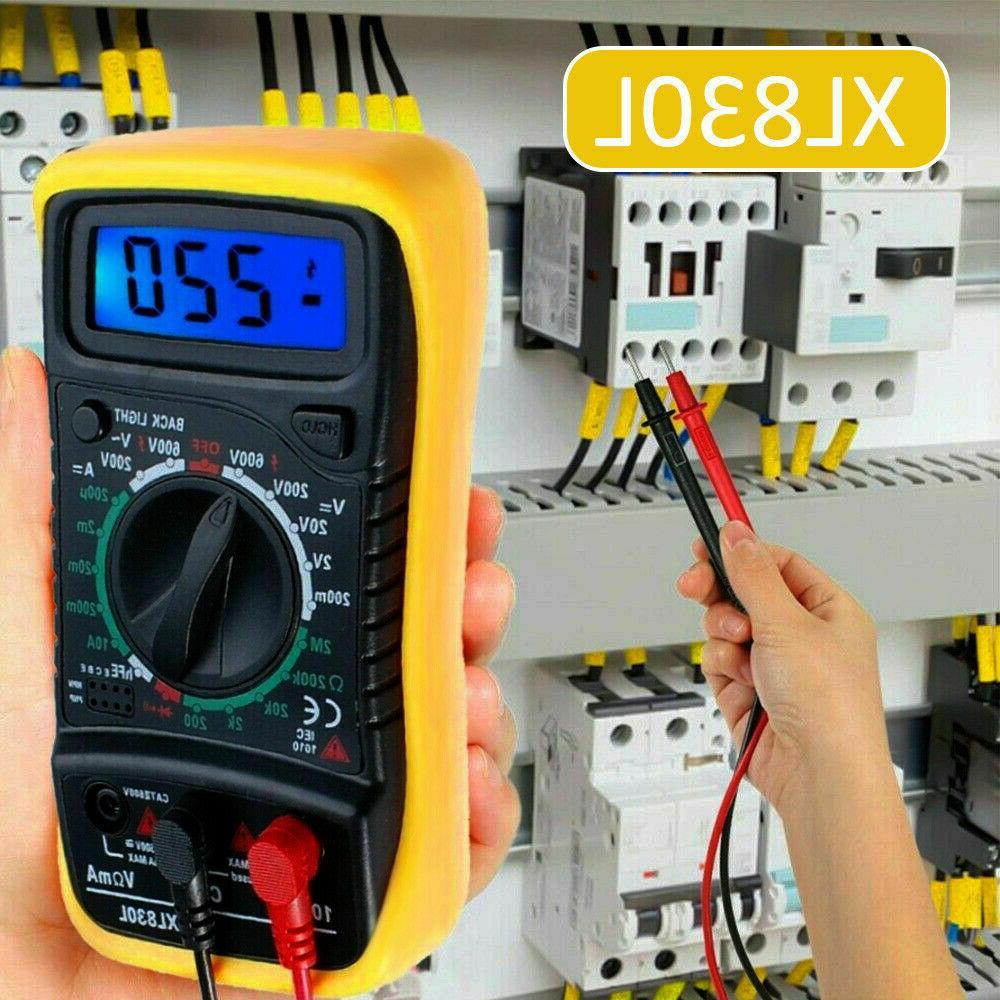 lcd digital multimeter voltage tester electric ohms