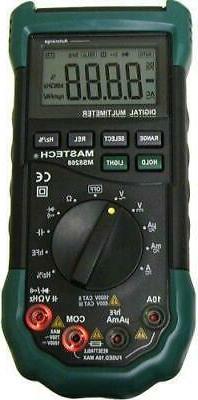 mastech acdc automanual range multimeter