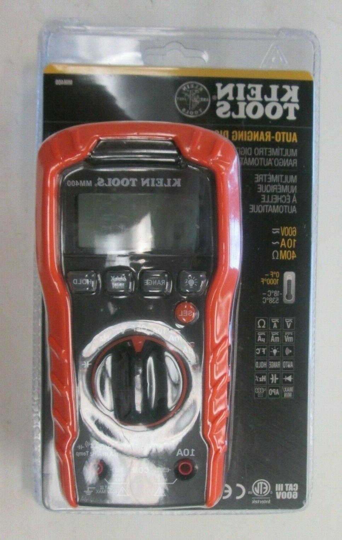 mm400 digital multimeter auto ranging 600v