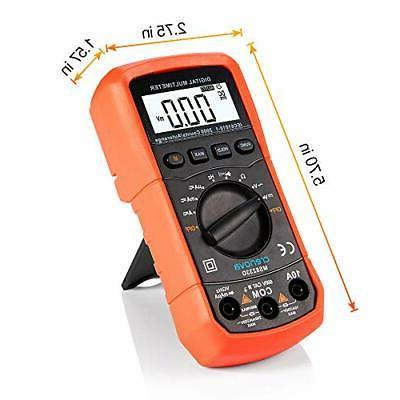 Crenova Digital Multimeter Measuring Tools Orange