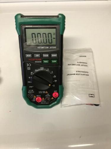 MASTECH MS8268 Multimeter Sound Alarm FuseFrequency