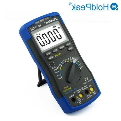 Multimeter 1000V DC Current Circuit Meters Digital